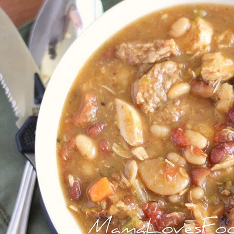 Hunger Games Hob Stew. {Chicken & Sausage Stew}