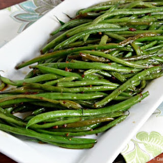 Ginger Lemon Green Beans Recipes