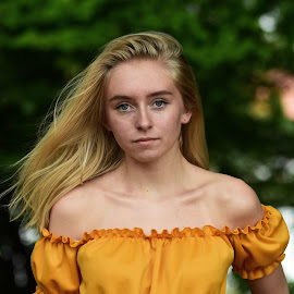 by Anngunn Dårflot - People Portraits of Women