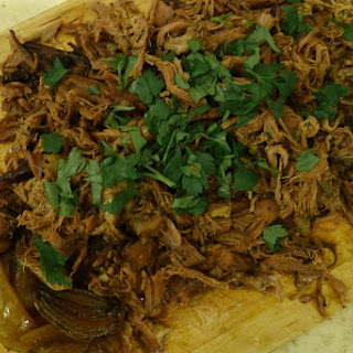 Slow Cooked Spiced Pulled Lamb Shoulder