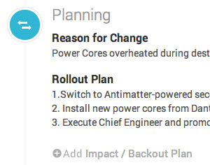 Change Management Planning