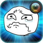 Troll Face Photo Sticker APK Image