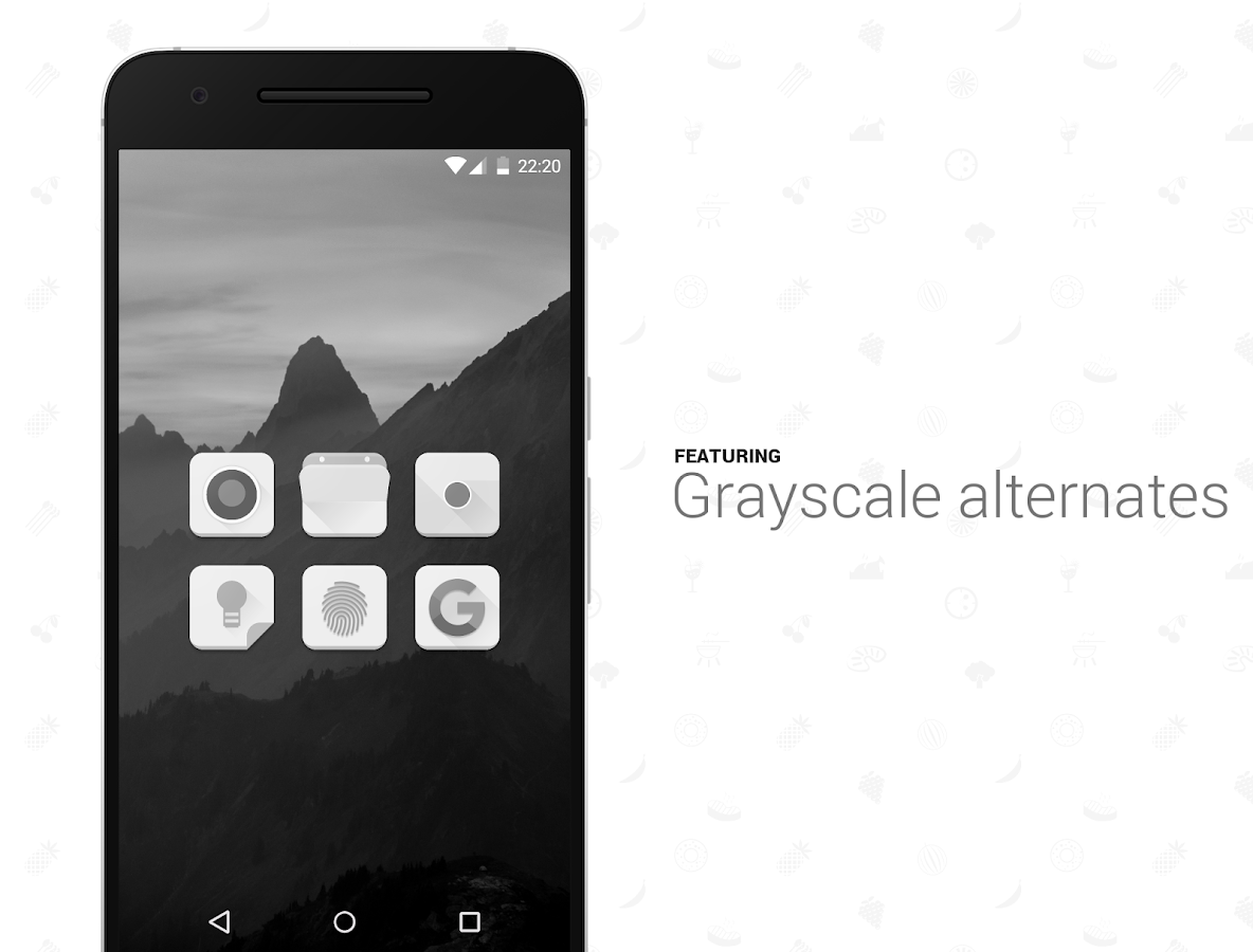 Snackable Icon Pack Screenshot 3