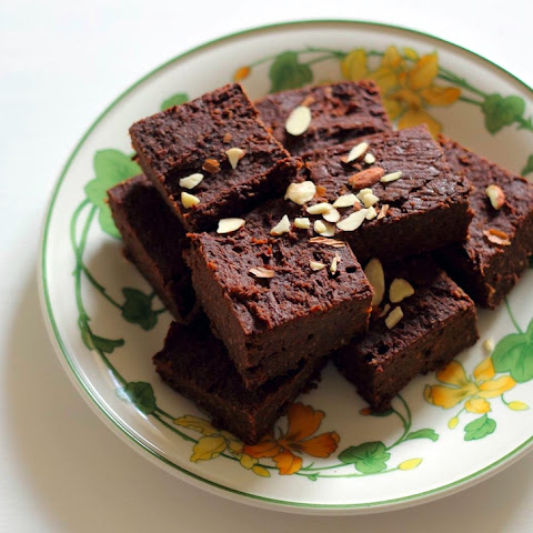 Banana Chickpea Brownies