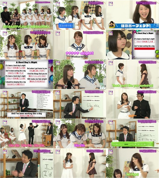 (TV-Variety)(720p) 乃木坂46えいご(のぎえいご) ep01 150628