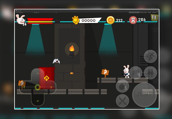 Rabbit Shoot Invasion Games Screenshot