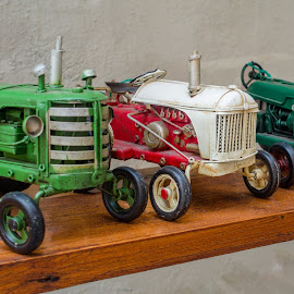 Toy Tractors by Andrew Moore - Artistic Objects Toys