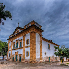 Historic church in Paraty by Pravine Chester - Buildings & Architecture Public & Historical ( brazil, paraty, building, church, historic building, architecture )