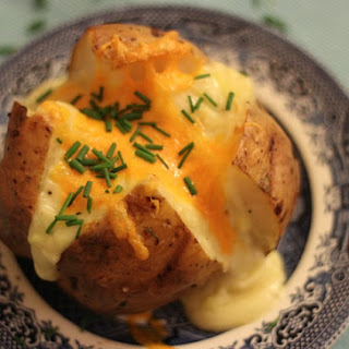 Baked Potato With Butter And Cheese Recipes
