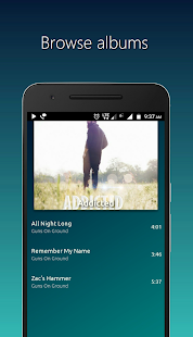 PowerAudio Plus Music Player Screenshot