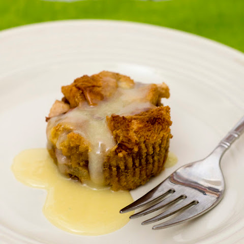 Vanilla-Pear Brioche Bread Pudding #ProgressiveEats