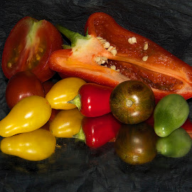 multicolor vegetables by LADOCKi Elvira - Food & Drink Fruits & Vegetables