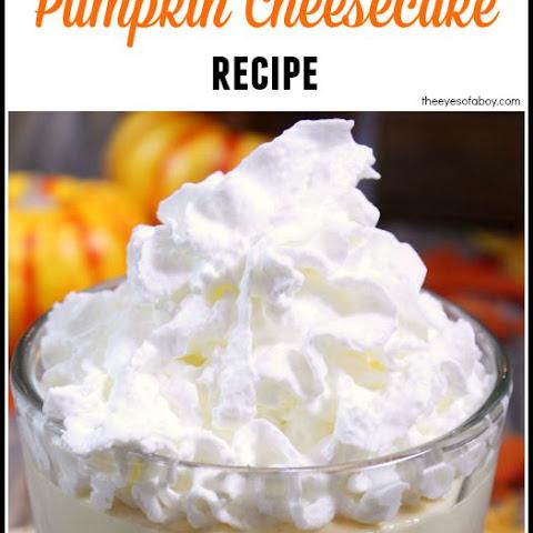 No Bake Pumpkin Cheesecake Recipe | Yummly
