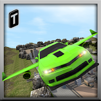 Flying Car Stunts 2016 For PC (Windows And Mac)