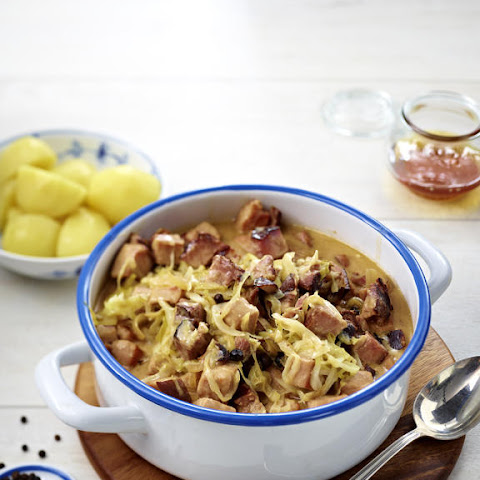 Pork and Cabbage Goulash