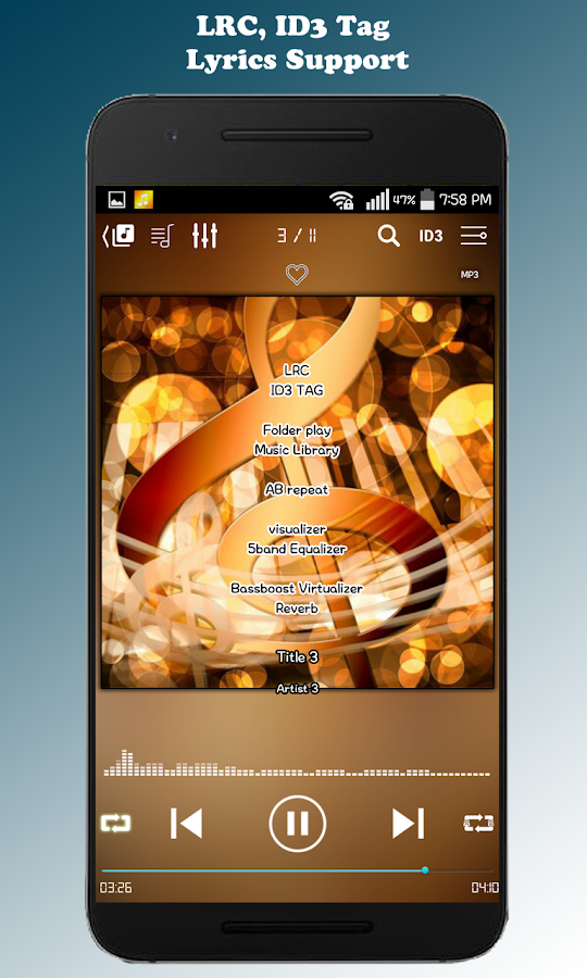 ZZang Music Player Screenshot