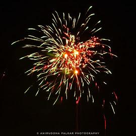 Fireworks Photography by Aniruddha Palkar - Abstract Fire & Fireworks ( sony, diwali, night photography, fireworks, creativity )