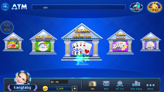 Download ATM – Game Danh Bai Doi Thuong APK for Android Kitkat