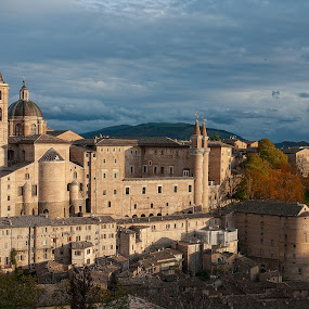 Urbino, Italy by Nikos Pa - Travel Locations Landmarks