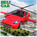 Helicopter Car Flying Relief