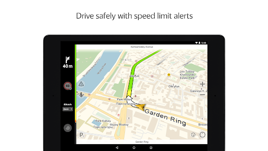 Download Android App Yandex.Navigator for Samsung