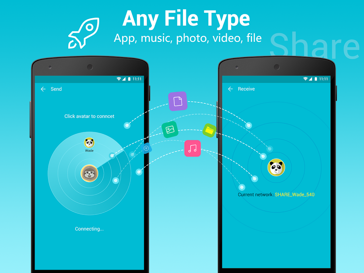 All Share - Apps&File Transfer Screenshot 2
