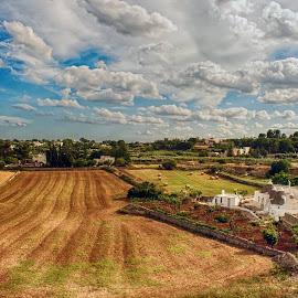 Martina FrancaValle d'Itria by Domenico Liuzzi - Landscapes Travel
