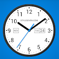 App Light Analog Clock LW-7 APK for Kindle