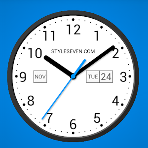 Light Analog Clock LW-7 For PC (Windows & MAC)
