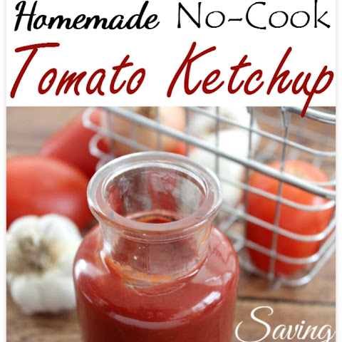 Homemade Healthy Ketchup Recipe | Easy & Healthy