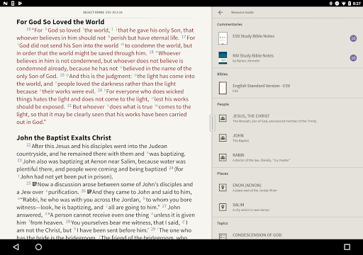 ESV Strong's Bible screenshot 9