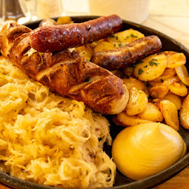 De Dust by Bogdan Rusu - Food & Drink Plated Food ( cabbage, germany, sausage, miss, hunger )