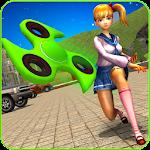 Fidget Spinner Super Hero Icon