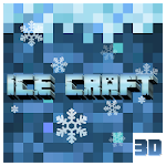 Ice Craft 3D 2018: Crafting and Survival Icon