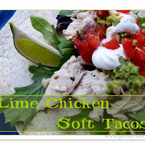 Lime Chicken Soft Taco Recipe - FP