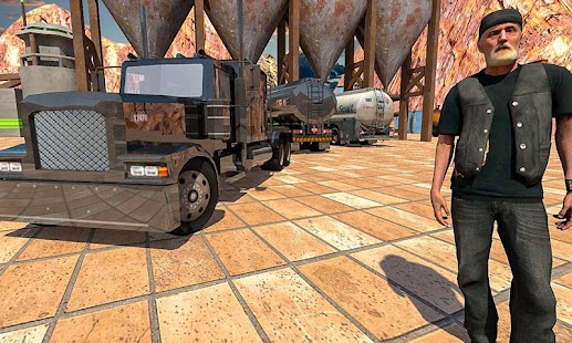 Multi Cargo Transporter Truck: Offroad Driving