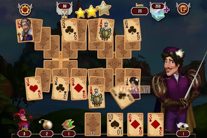 android Mousquetaire Solitaire Gratuit Screenshot 1