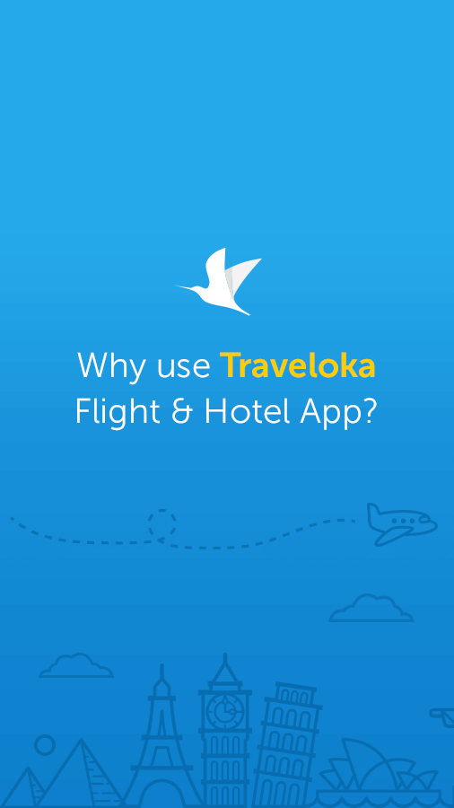 Traveloka Book Flight & Hotel Screenshot
