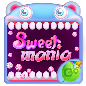 Sweet Mania GO Keyboard Theme
