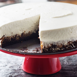 Brownie-and-Cookie Crust Cheesecake