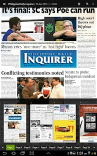 InquirerPlus - screenshot