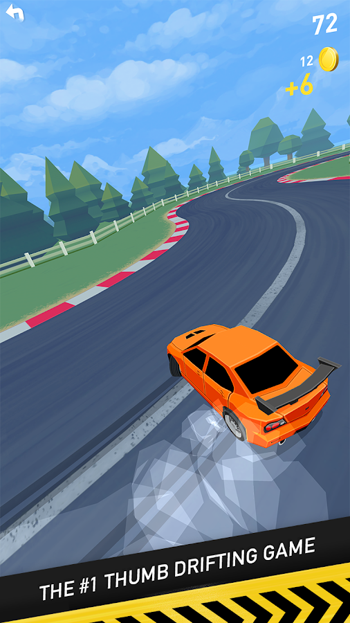 Thumb Drift - Fast & Furious One Touch Car Racing Screenshot 1