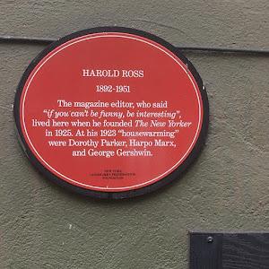 HAROLD ROSS1892 - 1951The magazine editor, who said