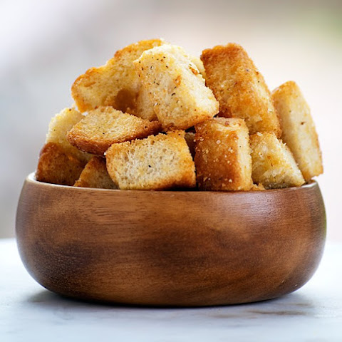 Olive Oil Garlic Croutons