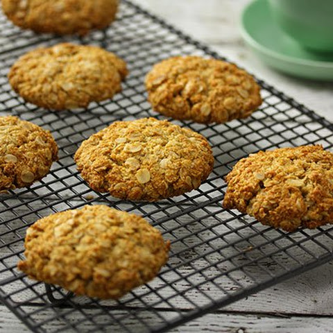 Almond Meal Anzac Biscuits