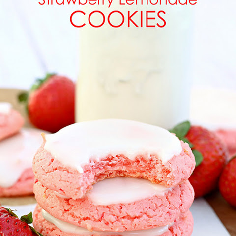 Easy Strawberry Lemonade Cookies
