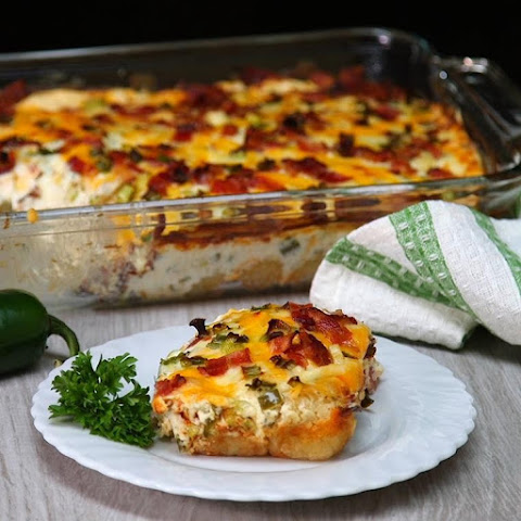 Whip Up a Quick and Easy Dinner Tonight With This Jalapeno Popper Casserole