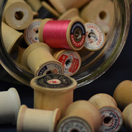 by Tonya Yarbrough - Artistic Objects Other Objects ( spool, thread )