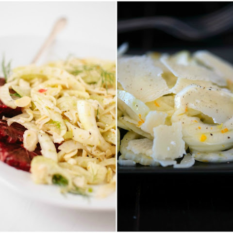 Shaved Fennel Salad with Parmesan and Orange Zest by Melissa Clark