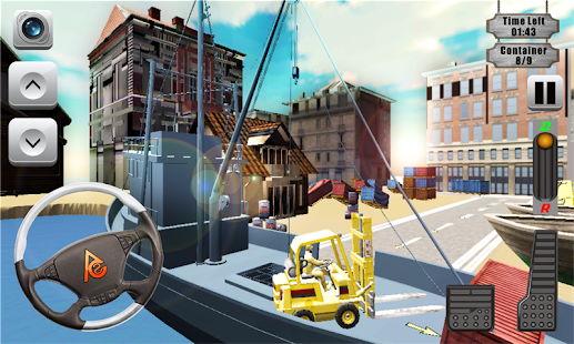 Drive Forklift Simulator 3D - screenshot